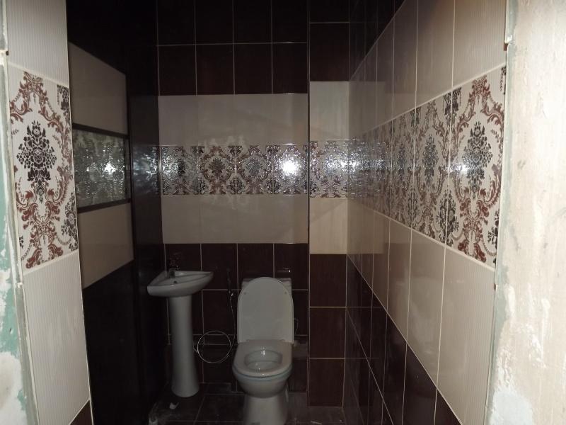 Ремонт туалета в  Красноярске, пример работы.
