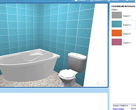 Программы для дизайна ванной комнаты 3d