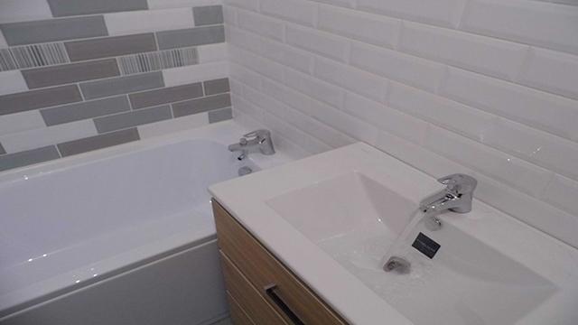 Кафель кабанчик в ванной  Красноярск