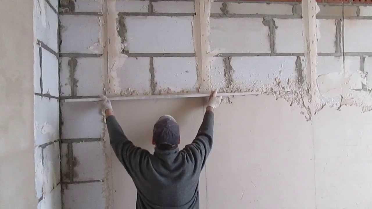 Поштукатурит стены своими руками
